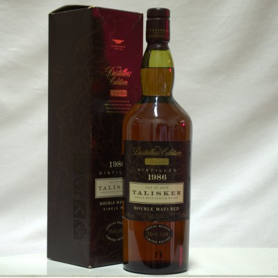 Talisker 1986 Distillers Edition 1L