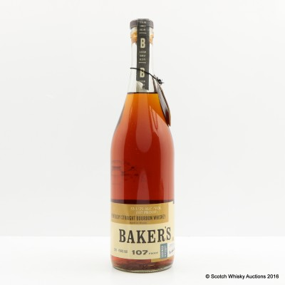 Baker's 7 Year Old 107 Proof 75cl