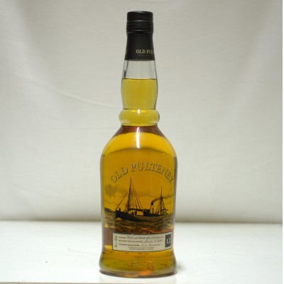 Old Pulteney 12 Year Old Screen Print Bottle
