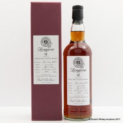 Longrow 1996 12 Year Old Springbank Society Bottling
