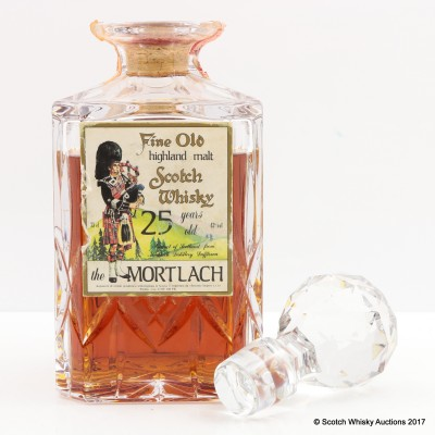Mortlach 25 Year Old Decanter Sestante 75cl
