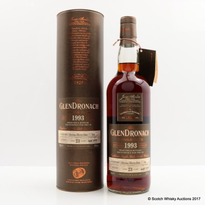 GlenDronach 1993 23 Year Old Single Cask #564