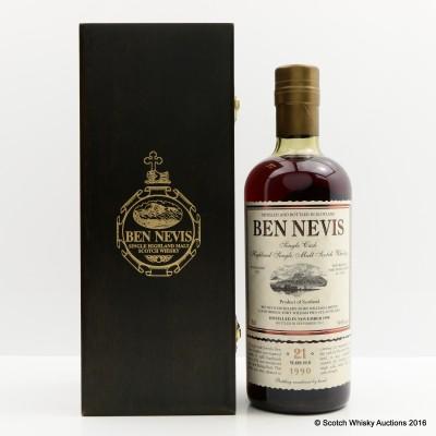 Ben Nevis 1990 21 Year Old