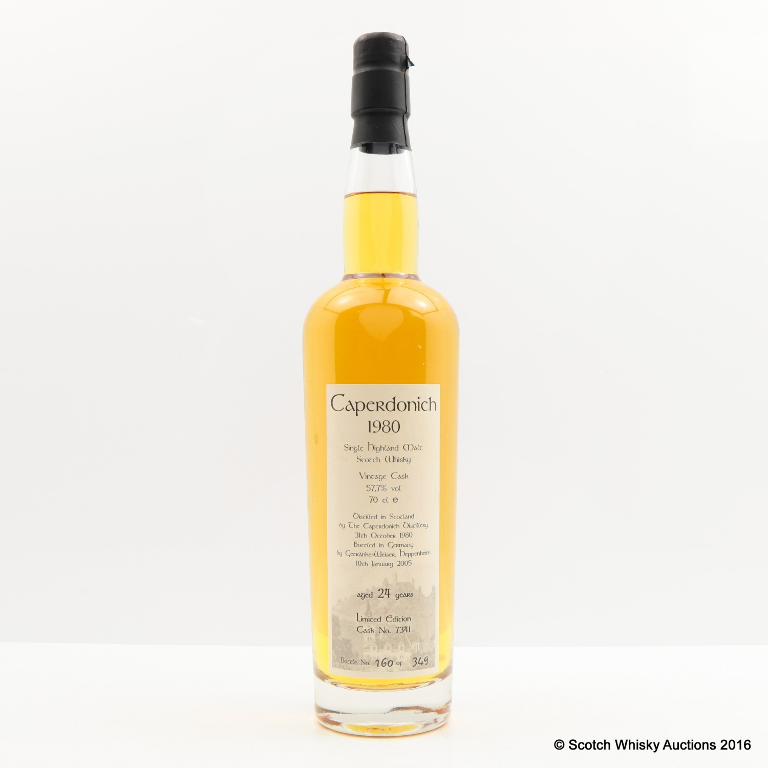 Scotch Whisky Auctions | The 71st Auction | Caperdonich 1980 24 Year ...