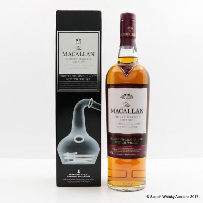 Macallan Nick Veasey The Pillars Whisky Maker's Edition