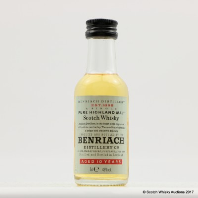 BenRiach 10 Year Old Mini 5cl