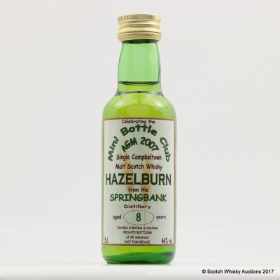 Hazelburn 8 Year Old Mini Bottle Club AGM 2007 5cl