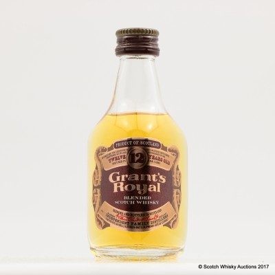 Grant's Royal 12 Year Old Mini 5cl