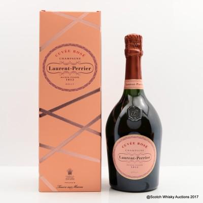 Laurent-Pierrer Brut Rose Champagne 75cl