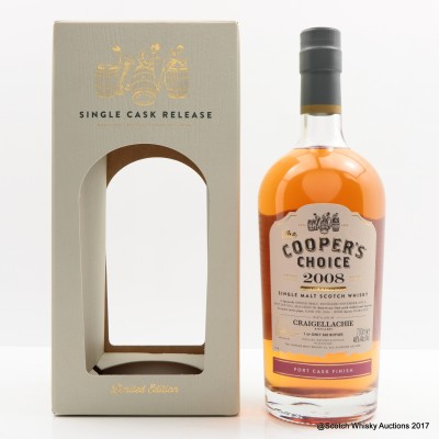 Craigellachie 2008 7 Year Old Cooper's Choice