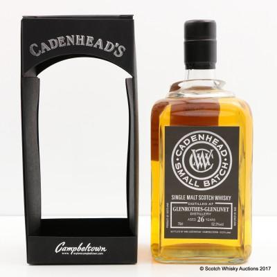 Glenrothes-Glenlivet 1989 26 Year Old Cadenhead's