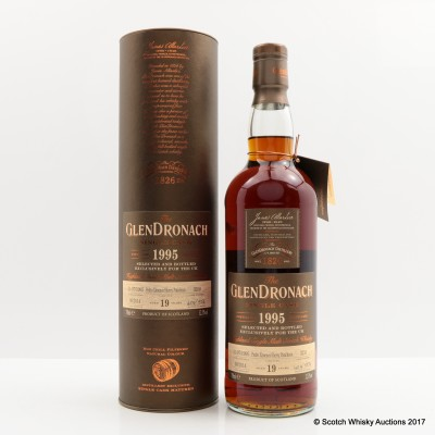 GlenDronach 1995 19 Year Old Single Cask #3250