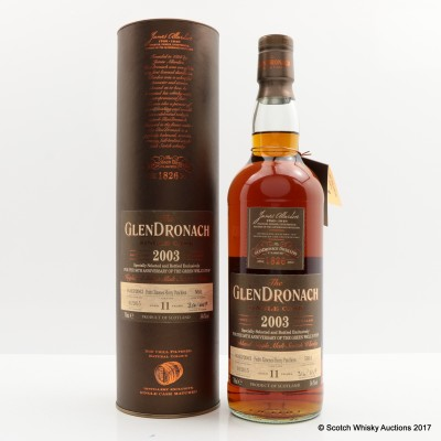 Glendronach 2003 11 Year Old Single Cask #5691 Green Welly Stop 50th Anniversary