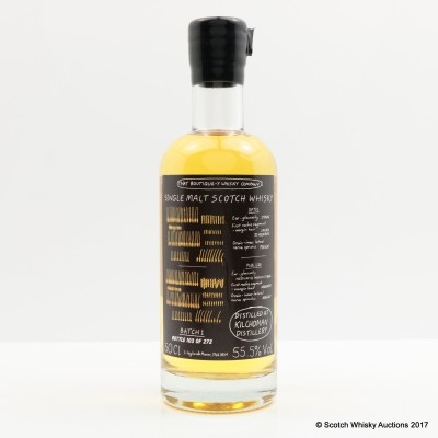 Boutique-y Whisky Co Kilchoman Batch #1 50cl
