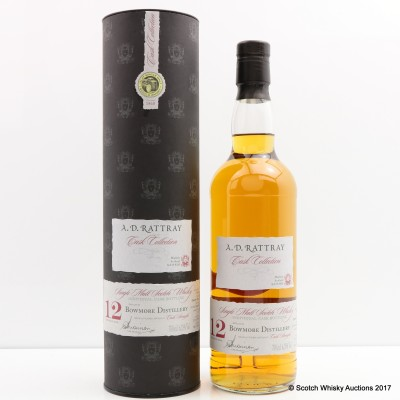 Bowmore 1998 12 Year Old A.D. Rattray