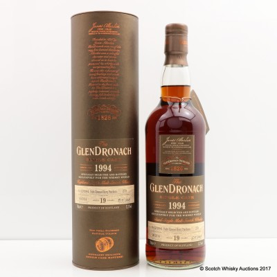 GlenDronach 1994 19 Year Old Single Cask #279 WHISKY WORLD EXCLUSIVE