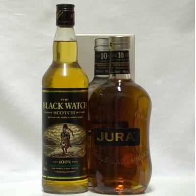 Jura 10 Year Old & Black Watch Blend