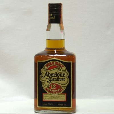 Aberlour Glenlivet 12 Year Old Dumpy Bottle 75cl