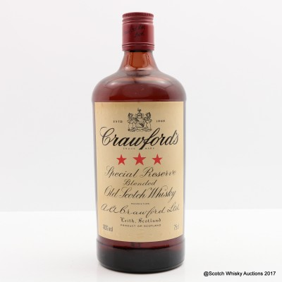 Crawford's 3 Star 75cl