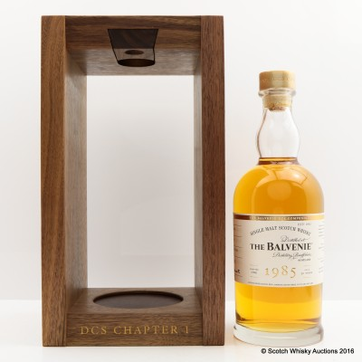 Balvenie 1985 30 Year Old DCS Compendium Chapter 1
