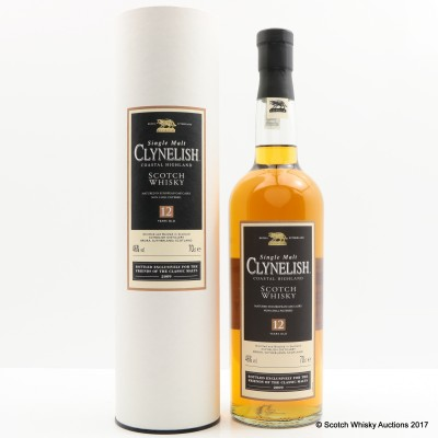 Clynelish 12 Year Old Friends of Classic Malts 2009 Release