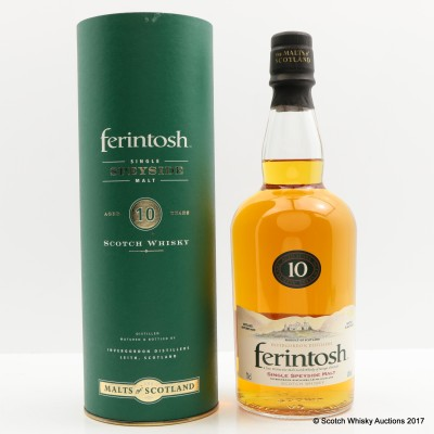 Ferintosh 10 Year Old Invergordon