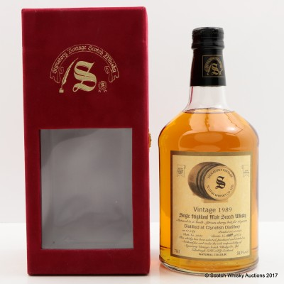 Clynelish 1989 12 Year Old Signatory Vintage