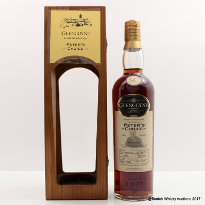 Glengoyne 1986 20 Year Old 'Peter's Choice'