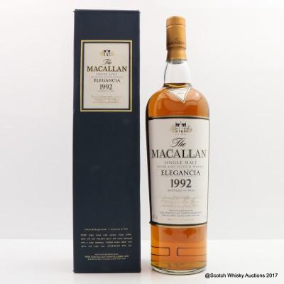 Macallan 1992 Elegancia 1L