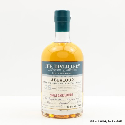 Aberlour 1989 25 Year Old Distillery Reserve Collection 50cl