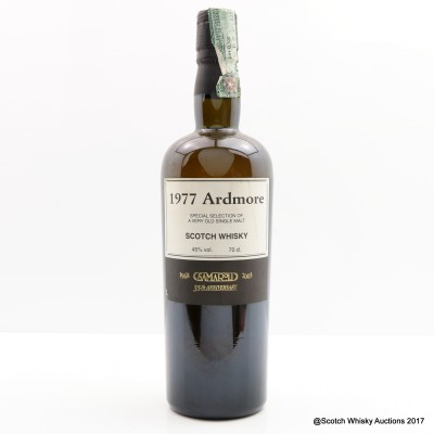 Ardmore 1977 Samaroli 35th Anniversary Bottling