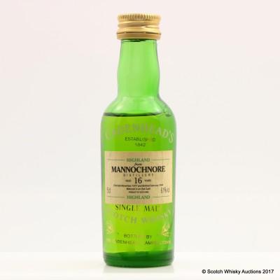 Mannochmore 1977 16 Year Old Cadenhead's Mini 5cl
