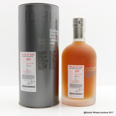 Bruichladdich Micro Provenance 2003 7 Year Old Fields of Oak