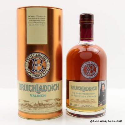 Bruichladdich Valinch Lord Robertson Of Port Ellen 50cl