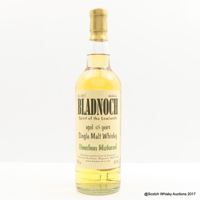 Bladnoch 6 Year Old Bourbon Cask