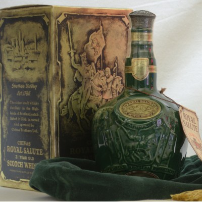 Chivas Royal Salute 21 Year Old Emerald Decanter 75cl