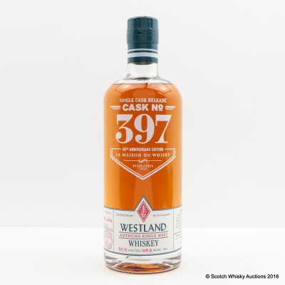 Westland Single Cask #397 60th Anniversary of La Maison Du Whisky