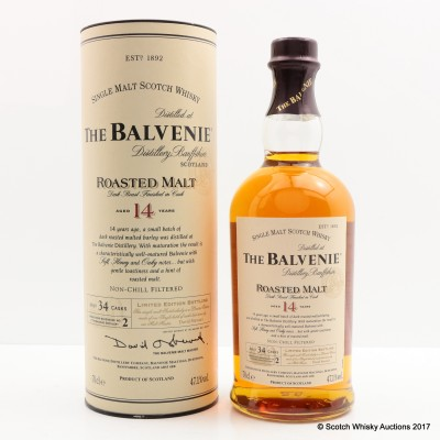 Balvenie 14 Year Old Roasted Malt