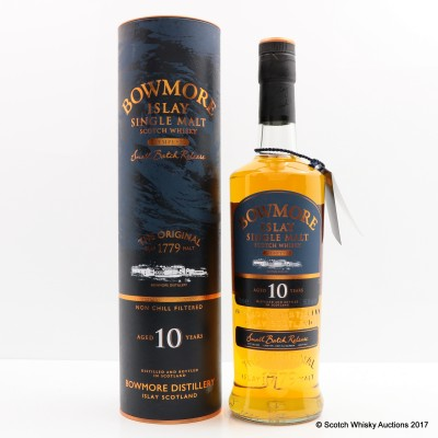 Bowmore Tempest 10 Year Old Small Batch Release #1