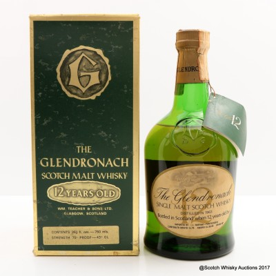 GlenDronach 1963 12 Year Old 75cl