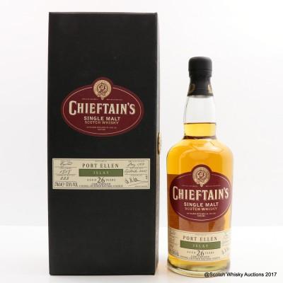 Port Ellen 1982 26 Year Old Chieftain's