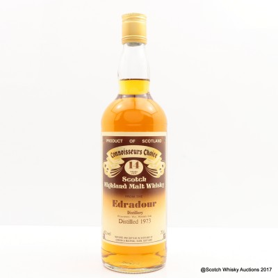 Edradour 1973 14 Year Old Connoisseurs Choice 75cl