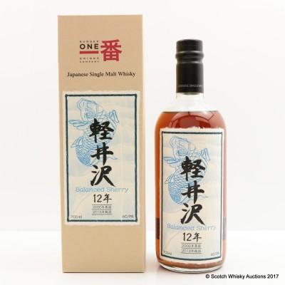 Karuizawa 2000 12 Year Old Balanced Sherry