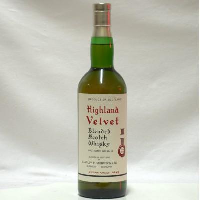 Highland Velvet Blended Scotch Whisky 75cl