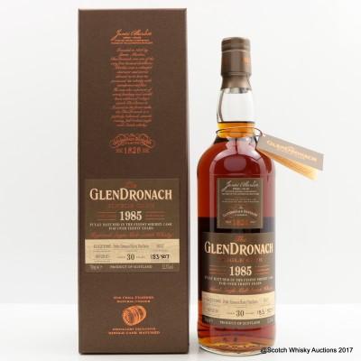 GlenDronach 1985 30 Year Old Single Cask #1037