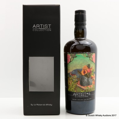 Macallan 1990 20 Year Old Artist #4 For La Maison Du Whisky