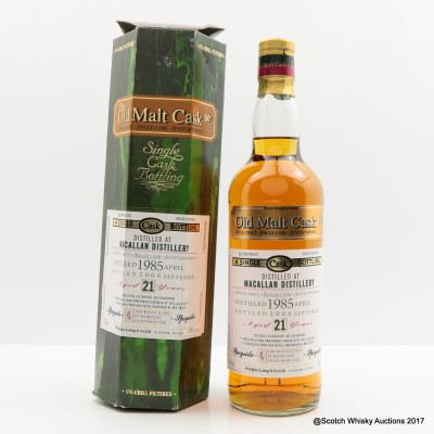 Macallan 1985 21 Year Old Old Malt Cask