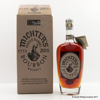 Michter's 20 Year Old Single Barrel