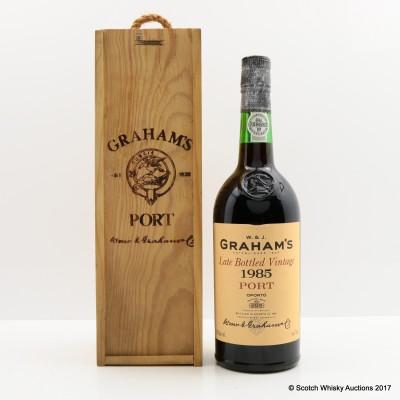 Graham's 1985 Late Bottled Vintage Port