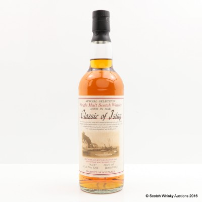 Classic Of Islay Vintage Malt Whisky Co Ltd 2015